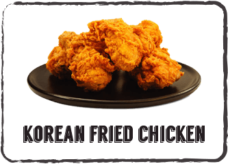 Korean Fried Chicken menu button