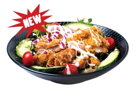chicken salad menu item