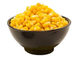 sweet corn cup menu item
