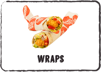 Wraps menu button